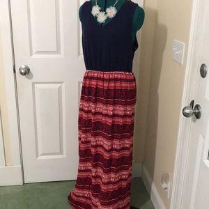 Beach Dress with Side Skirt Slits